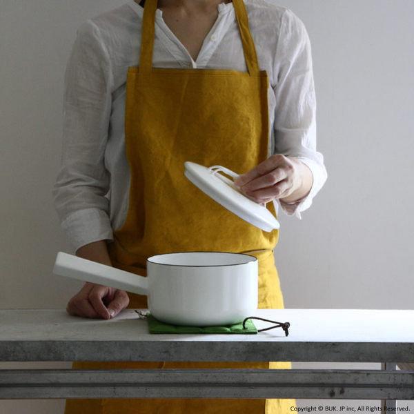 *新品上市* 日本製 野田琺瑯 山田耕民 17cm 片手鍋-純白-網路最低價