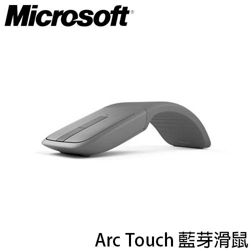 微軟 MICROSOFT ARC TOUCH Bluetooth 灰色 藍芽滑鼠