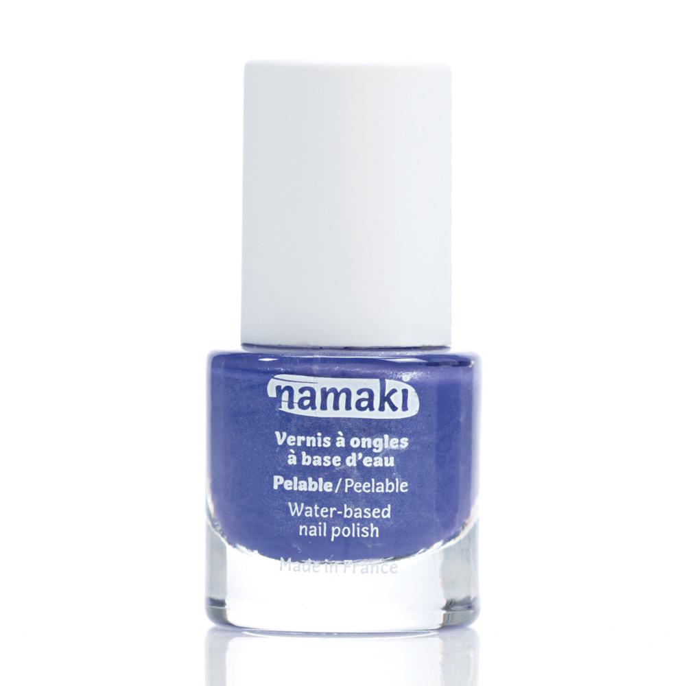 法國 namaki 幼兒專用可撕式水性指甲油 - 奇幻紫