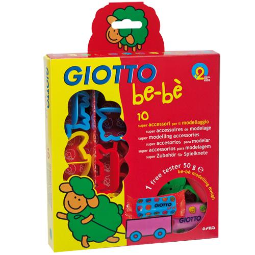 【義大利 GIOTTO】寶寶黏土工具組
