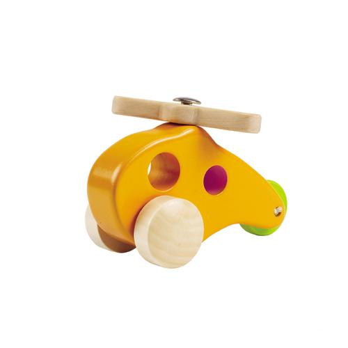 德國【Hape愛傑卡】木製直昇機