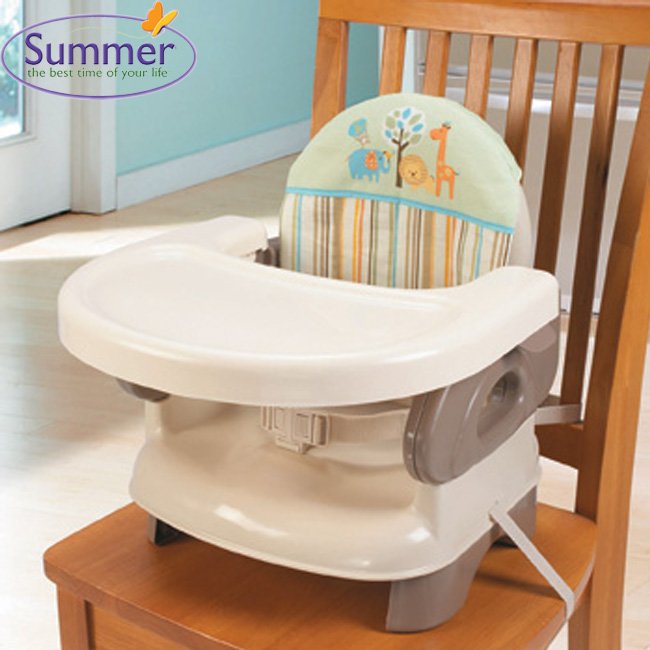 《美國Summer infant》可攜式活動餐椅(米色)13050 ㊣原廠授權總代理公司貨