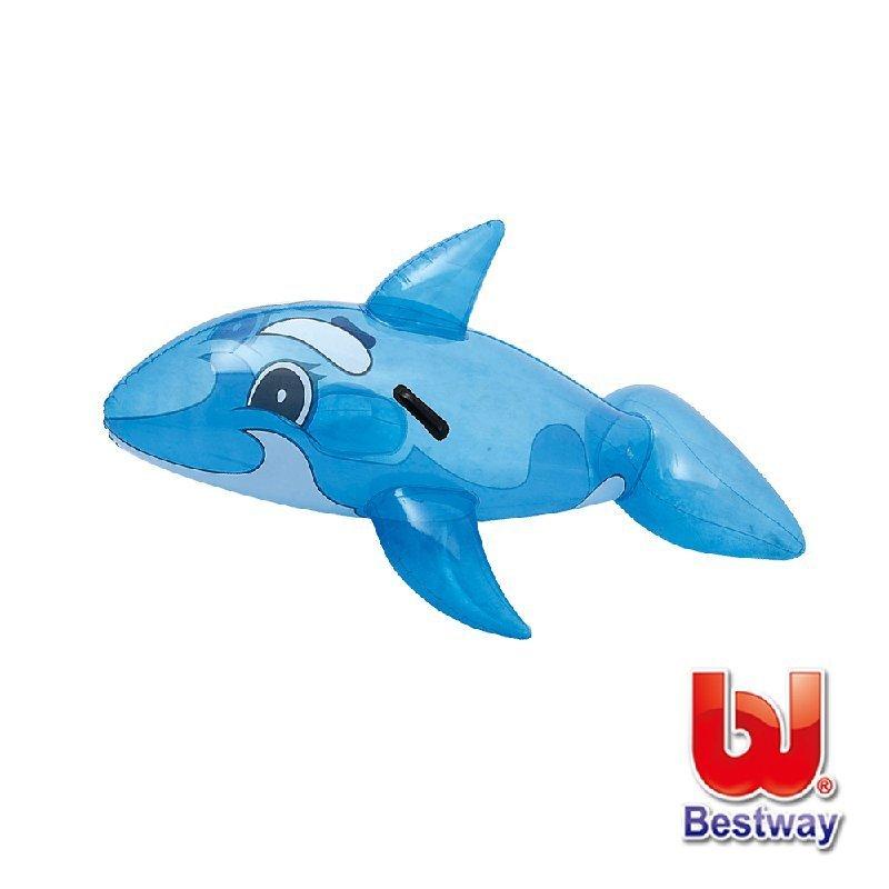 《Bestway》46X28可愛充氣海豚坐騎(69-00118)