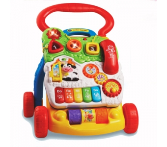 Vtech 寶寶聲光學步車 ★新款,有煞車功能