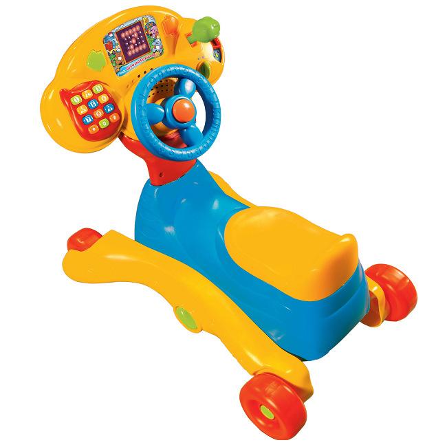 vtech 3合1多功能智慧學習車/3合1智慧學習車  ◎可以從0歲玩到6歲ㄛ ★加贈:愛智娃娃書