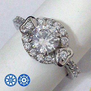 心相印 八心八箭CZ美鑽戒指 * 附精美戒指盒、提袋