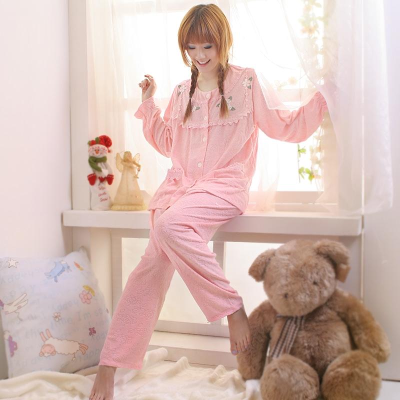 【雙峰話題】精緻小花.提花毛巾布 裙裝 / 褲裝睡衣