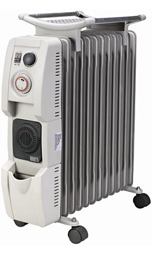 弘瀚科技?風葉片式恆溫陶瓷電暖爐(12片)HF-2112