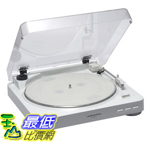 [104東京直購] 日本鐵三角 audio-technica AT-PL300 內建唱頭放大全自動 黑膠 唱盤 白色 U2