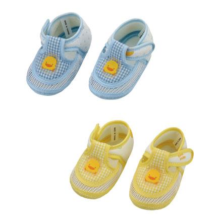 【悅兒樂婦幼用品?】Piyo 黃色小鴨 網狀嬰兒學步涼鞋