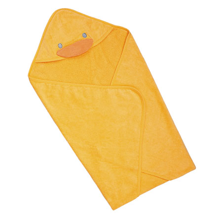 【悅兒樂婦幼用品?】Piyo 黃色小鴨 毛巾布包巾