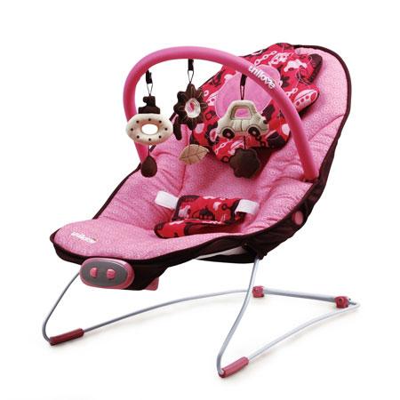 【悅兒園婦幼生活?】英國 unilove 寶寶安撫椅 Hoze-foofoo 粉色