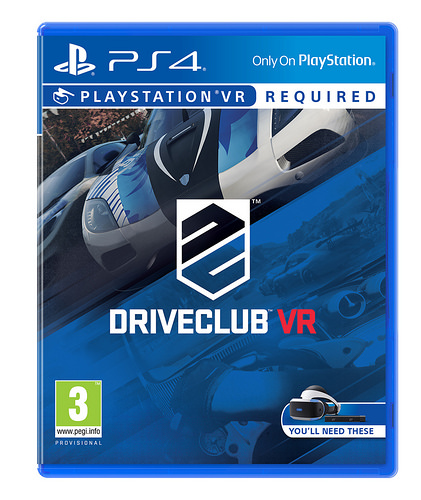 現貨供應中 中文版 PSVR專用軟體 [普遍級] PS4 駕駛俱樂部 VR