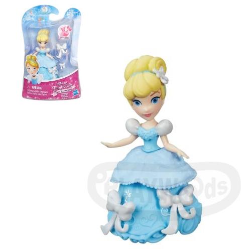 【Playwoods】[迪士尼公主DISNEY]迷你公主人物組:灰姑娘 仙杜瑞拉Cinderella (孩之寶/娃娃Doll/神仙教母/南瓜馬車/玻璃鞋)