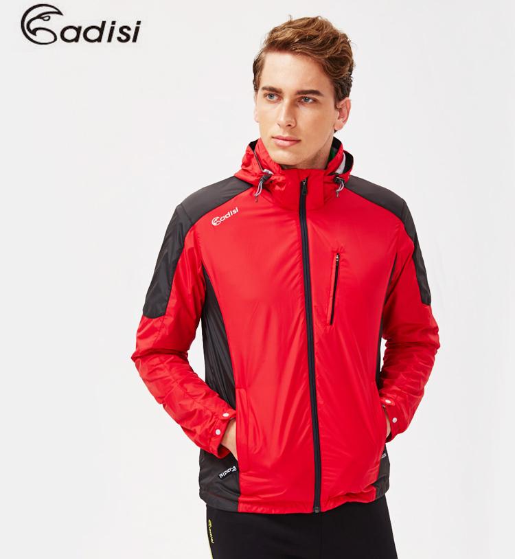 ADISI 男天鵝絨防潑水防風保暖可拆式連帽外套AJ1521052(S~4XL) / 城市綠洲專賣(防潑水、超輕量羽絨、機能性布料)