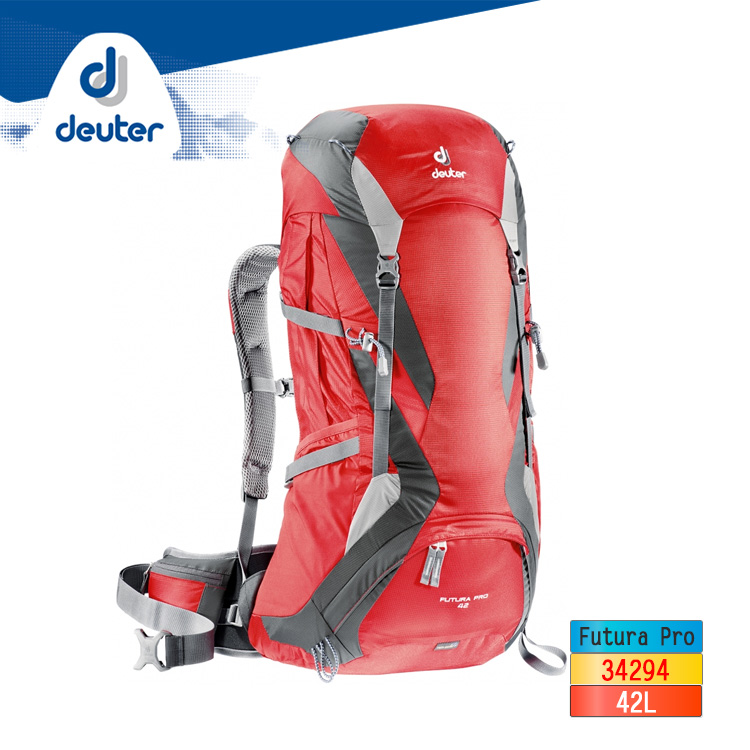 deuter Futura Pro網架透氣背包34294︱42L / 城市綠洲 (後背包 登山背包 德國品牌)