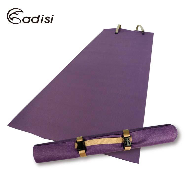 【送瑜珈墊背帶】ADISI 橡膠瑜珈墊AS15099 / 城市綠洲 (防滑.運動健身用品)