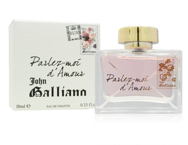 John Galliano 愛語女性淡香水 10ml《Belle倍莉小舖》