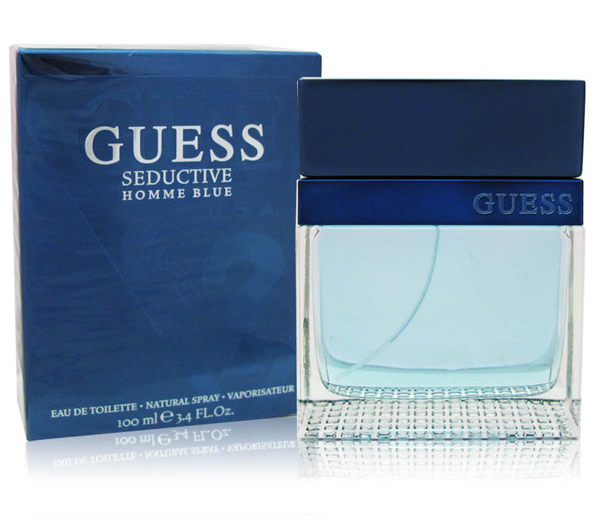 GUESS Seductive homme Blue 藍色魅惑男性淡香水 100ml ★BELLE 倍莉小舖★