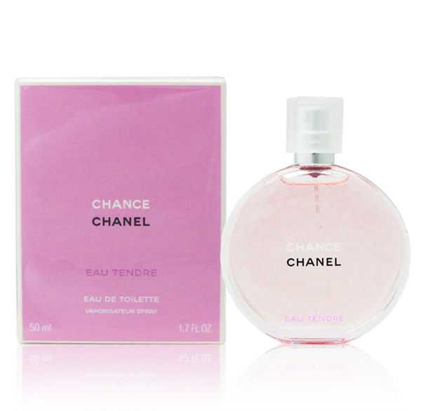 CHANEL 香奈兒 CHANCE 粉紅甜蜜版女性淡香水 50ml《Belle倍莉小舖》