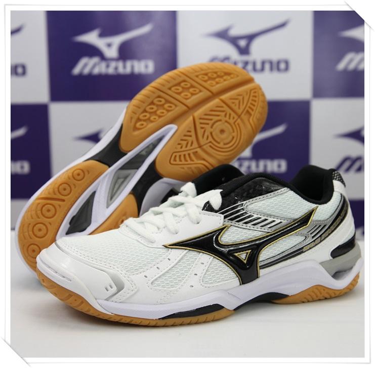 MIZUNO 美津濃 2014新款排球鞋(白*黑) Wave Stardom RX2 男女同款