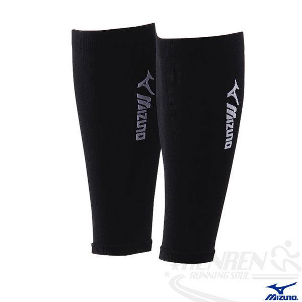 MIZUNO 美津濃 日製BIO GEAR護小腿套(黑) 運動 慢跑 長時間站立
