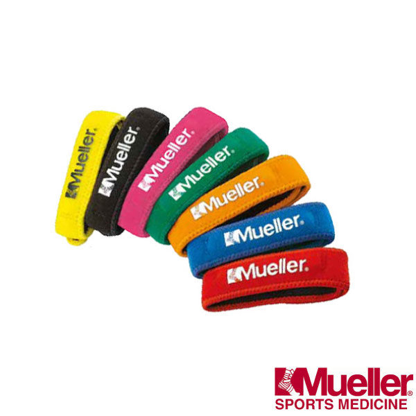 Mueller護具 跳躍膝髕腱加壓帶 臏骨帶(7色) 軟性橡膠管。MUA991~997