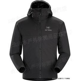 Arcteryx 始祖鳥 14648 Atom AR Hoody 連帽化纖保暖外套/防潑水滑雪外套/雪衣/登山保暖層 男款 黑 Arc\