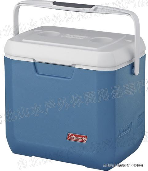 [ Coleman ] 26L Xtreme 冷冽藍手提冰箱/冰桶 CM-3088J