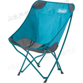 Coleman 露營椅/折疊椅/折椅 23503 水藍療癒椅