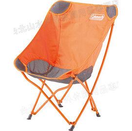 Coleman 露營椅/折疊椅/折椅 23504 杏黃療癒椅/台北山水