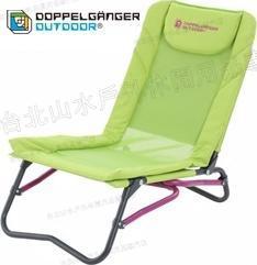 零碼特價/營舞者/Doppelganger/露營用品/折疊椅/鋁合金四段 夏椅 C1-91 四段調整 日本