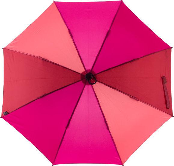 [ EuroSCHIRM ] 德國強力抗風傘 Birdiepal outdoor 抗電防風直傘/戶外專用風暴傘/防身/雨傘 紫紅配色 W208-CW4