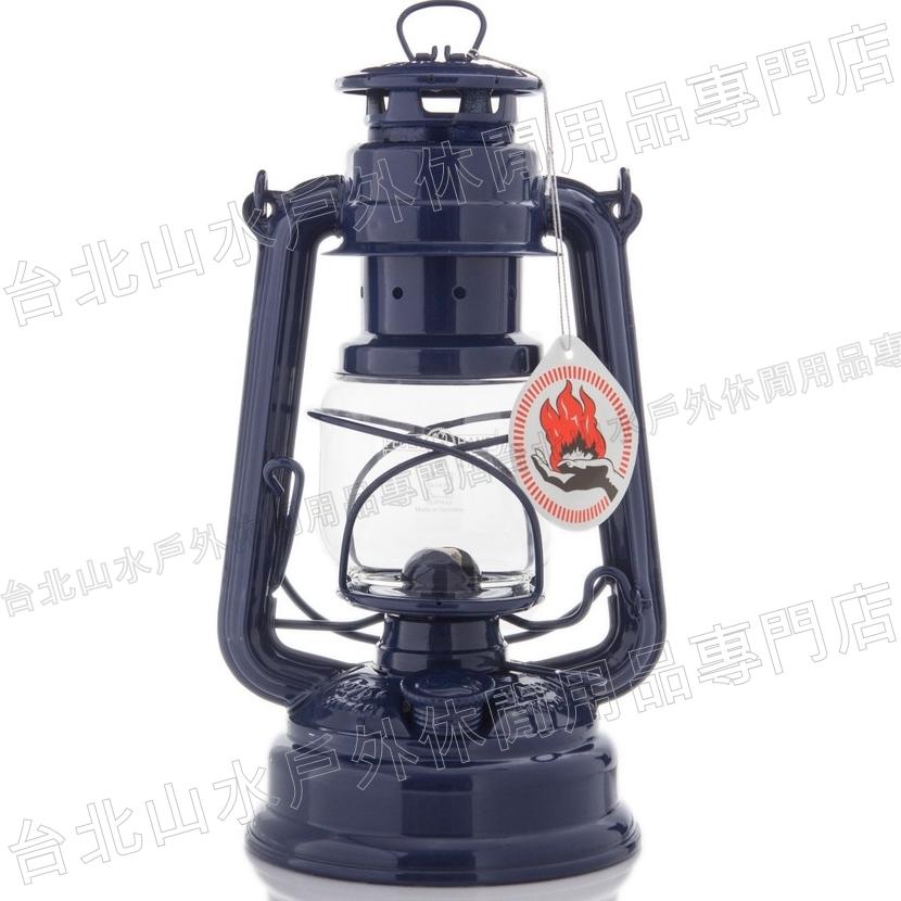 [ Feuerhand ] 火手燈/古典煤油燈/復古油燈擺飾 Baby Special 276-BLAU 寶石藍