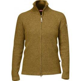 Fjallraven 瑞典北極狐 89697-226 菸草棕 Ovik Wool Cardigan 女款保暖高領羊毛外套