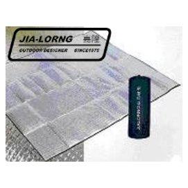[ JIA-LORNG 嘉隆 ] 200cm*200cm 4人鋁箔睡墊/防潮地墊 K-6604