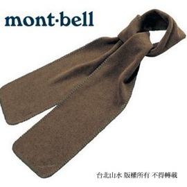 [ Mont-Bell ] Climatweed Muffler 日本 編織刷毛保暖圍巾 1108441 BN咖啡棕 montbell