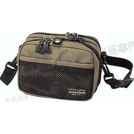 [ Mont-Bell ] Tackle Pouch S 多隔間收納包/側背兩用腰包/側背包 1126142 montbell