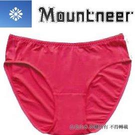 [ 山林 ][ Mountneer ] 11K80-36 深玫紅 女透氣三角內褲/排汗內褲