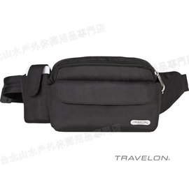 TRAVELON 防盜腰包/旅遊腰包/防盜鋼網/防搶/出國旅遊 TL-42223 旅行用品/台北山水