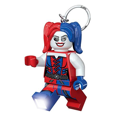 【 LEGO 樂高積木 】LED 鑰匙圈 - DC 超級英雄 - 小丑女