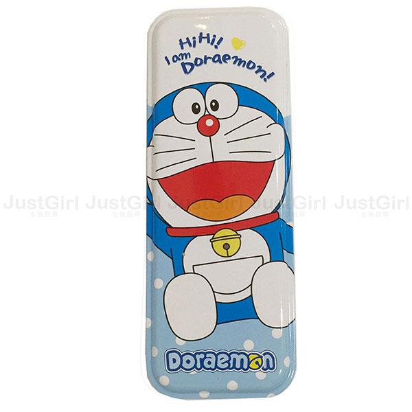 哆啦A夢 小叮噹 鉛筆盒 雙層馬口鐵 文具 正版日本進口 * JustGirl *