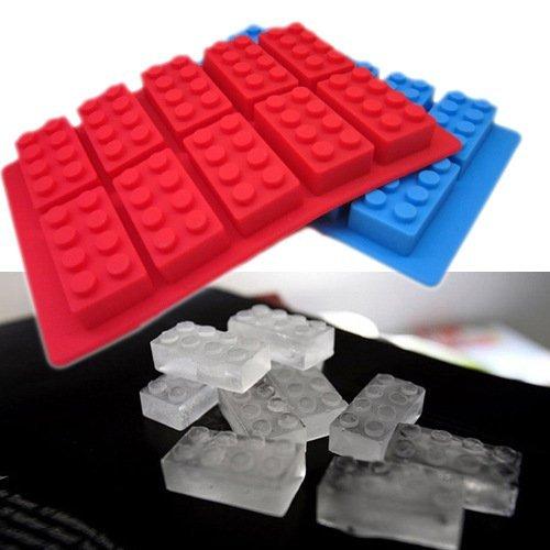 =優生活=食用級矽膠樂高積木型冰格 製冰盒 冰格模具 創意冰格 甜點飲料必備冰塊 LEGO模型