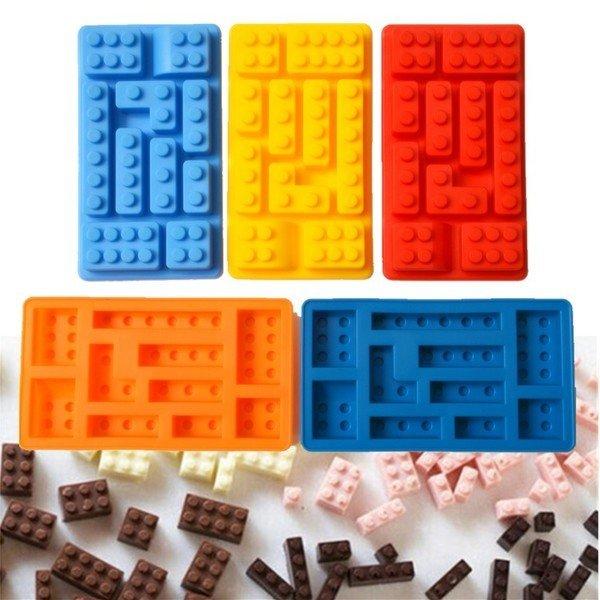 =優生活=食用級矽膠多款式樂高積木型冰格 製冰盒 冰格模具 創意冰格 甜點飲料必備冰塊 LEGO模型