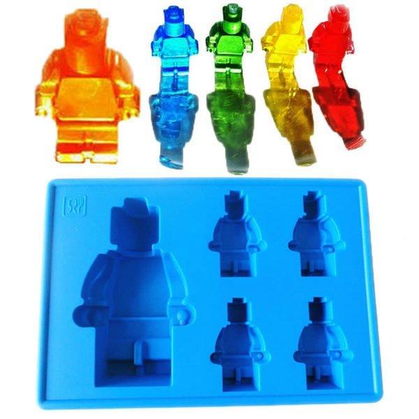 =優生活=食用級矽膠樂高人偶積木型冰格 製冰盒 冰格模具 創意冰格 果凍模 甜點飲料必備冰塊 LEGO模型
