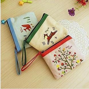 =優生活=童話小物主義 棉麻材質 zakka風 零錢包 收納包 卡片包
