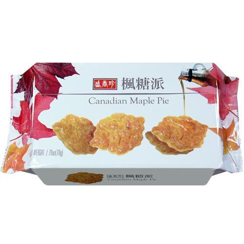 盛香珍 楓糖派79g【合迷雅好物商城】