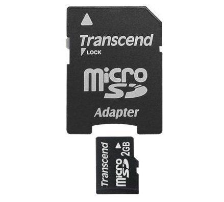 *╯新風尚潮流╭*創見記憶卡 2G MicroSD Micro SD 送minisd轉卡 TS2GUSD-2