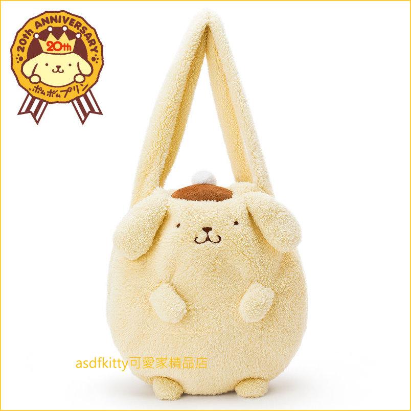 asdfkitty可愛家☆布丁狗20週年皇冠系列-造型肩背包/手提袋/購物袋-日本正版商品