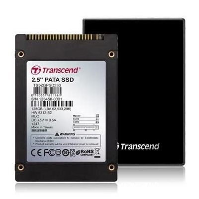 *╯新風尚潮流╭*創見 固態硬碟 SSD 32G 2.5吋IDE介面 MLC TS32GPSD330